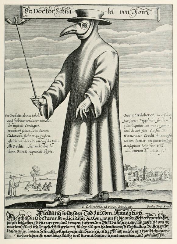 Der Doctor Schnabel von Rom (Holländer version)